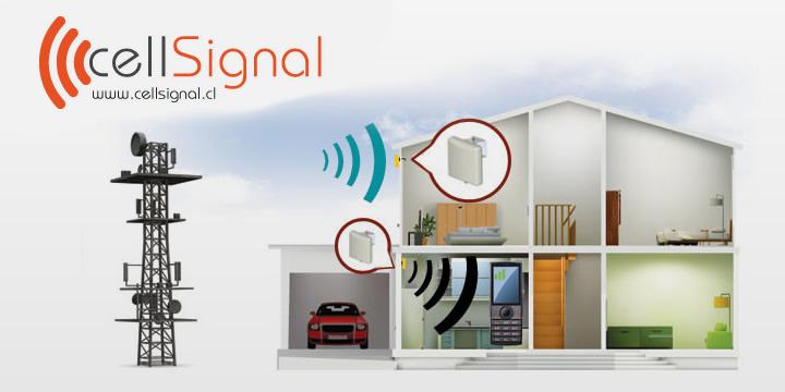Amplificador de señal para departamentos